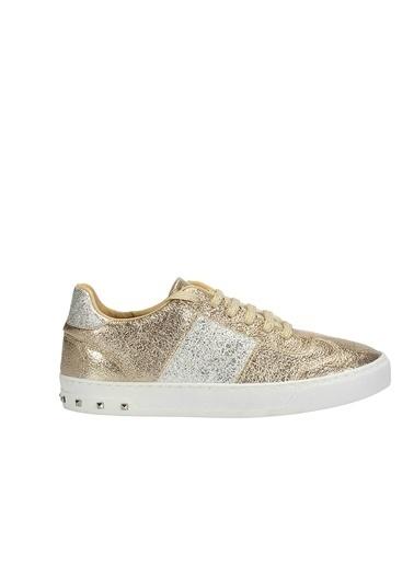 İnci Sneakers Altın